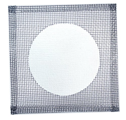 SEOH 6x6 Ceramic Center Wire Gauze Squares (pack of 3)
