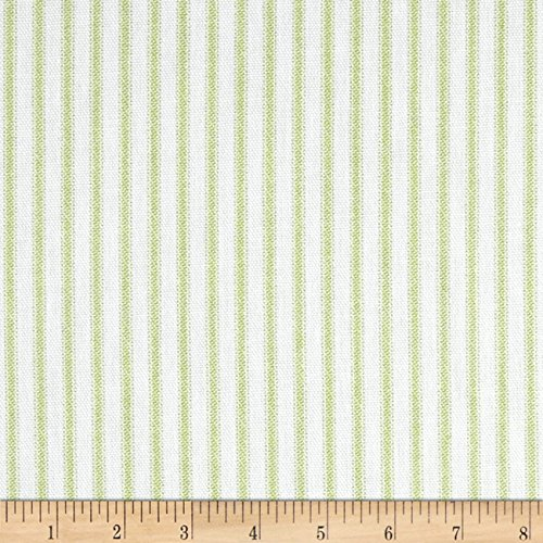 Premier Prints Classic Ticking Stripe Kiwi ()