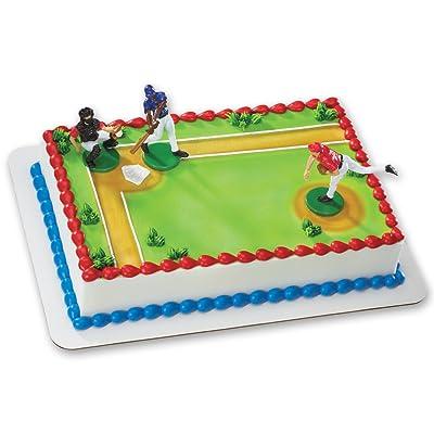 Baseball-Batter Up DecoSet Cake Decoration: Toys & Games