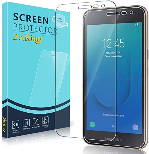 Drop Fall Protection Screen Protector Compatible with Galaxy J2 2016 The Grafu 9H Ultra Clear Tempered Glass Screen Protector for Samsung Galaxy J2 2016 2 Pack