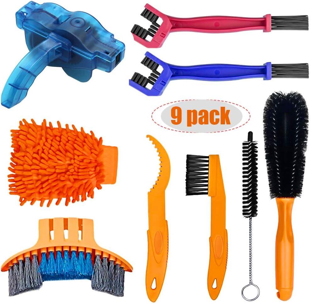 Pack de cepillos + Limpiador de cadena