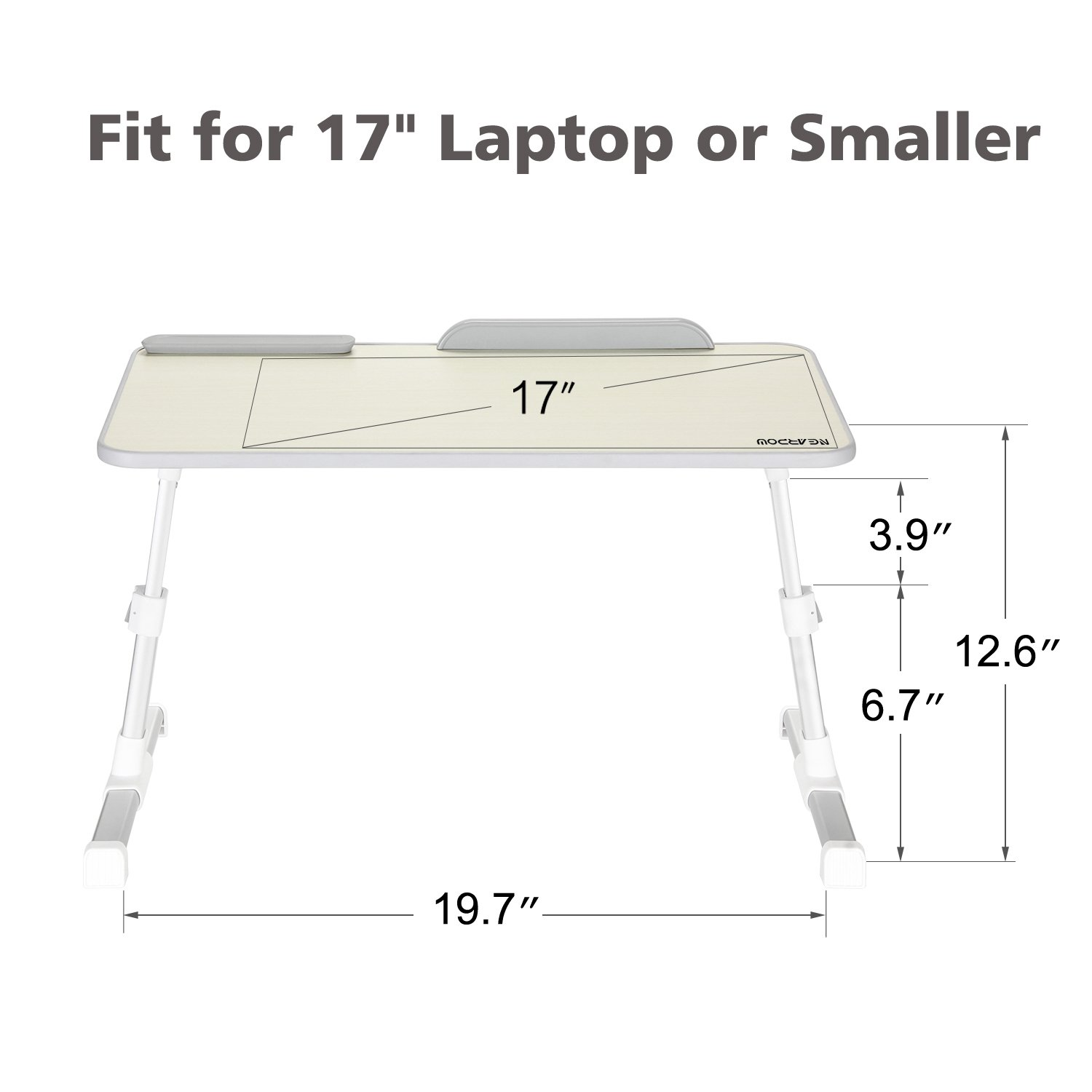 Amazon.com: Laptop Bed Tray Table, Nearpow Adjustable Laptop Bed Stand,  Portable Standing Table With Foldable Legs, Foldable Lap Tablet Table For  Sofa Couch ...
