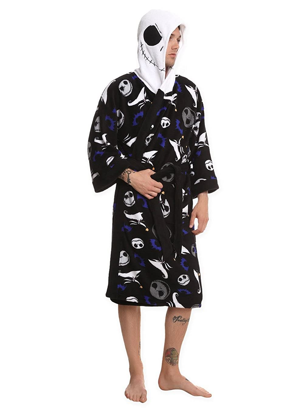 The Nightmare Before Christmas Jack Hooded Robe Size : Small ...