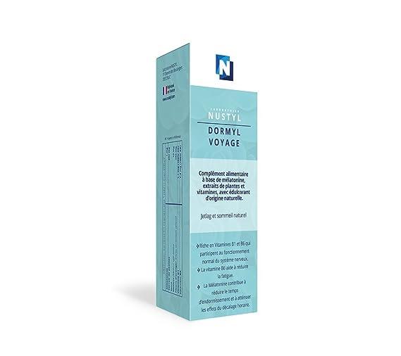 nustyl - dormyl viaje Jetlag y sueño Natural - A base de Melatonina y de plantas. Spray de 20 ml.: Amazon.es: Salud y cuidado personal