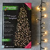 1,000 LED (25 Meter) Premier TreeBrights Cluster Tree Lights in Warm White