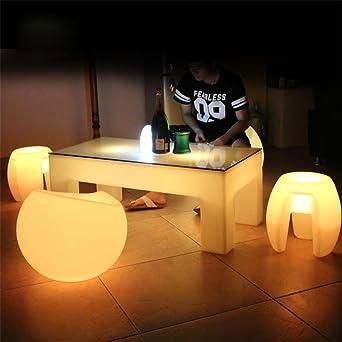Xiaominzi Ktv Tisch Couchtisch Led Bar Outdoor Tisch Pe Kunststoff