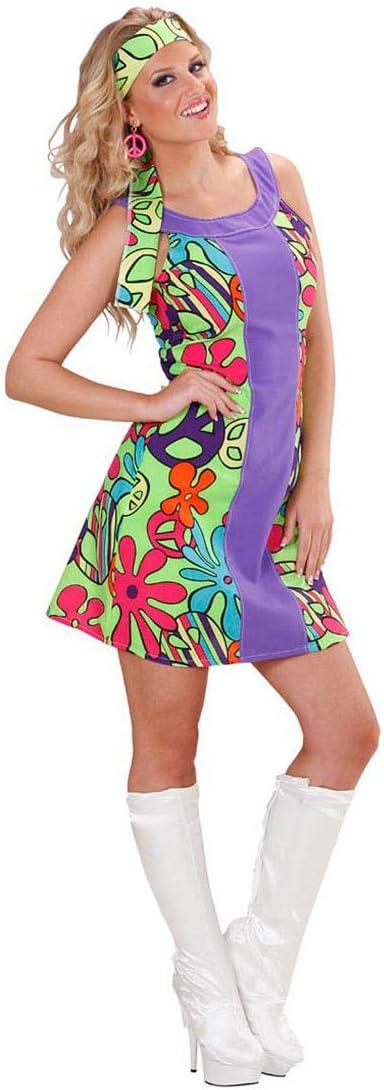 70er hippie para disfraz de niña hippie años hippie de disfraces ...