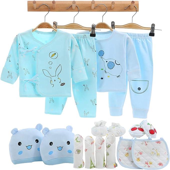 Amazon.com: 16 piezas de ropa para recién nacido, para bebé ...