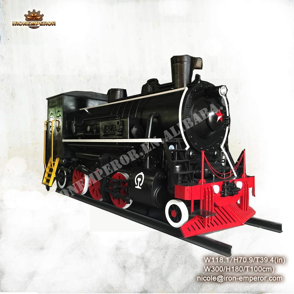 Ironemperor Outdoorwholesale Monorail Train Training Model &steam Engine Model Train