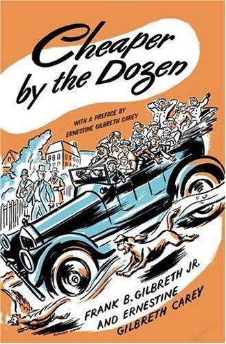 Cheaper by the Dozen by Frank B. Gilbreth (Large Print, Apr 2005) Hardcover (Cheaper By The Dozen By Frank B Gilbreth)