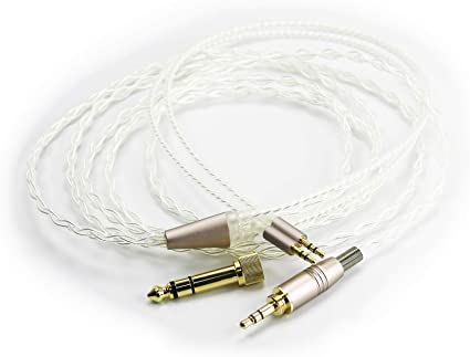 2.5mm Balanced Male to Dual XLR Male Silver Plated Cable