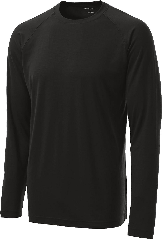 ST700LS Sport-Tek Long-Sleeve Ultimate Performance Crewneck T-Shirt