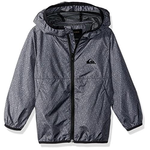 discount Quiksilver Boys' Contrasted Youth Windbreaker Jacket for cheap