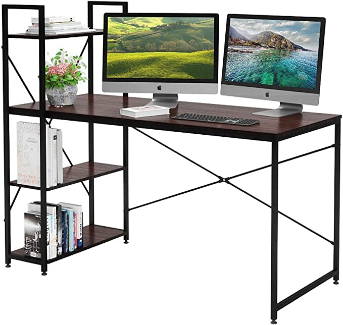 Roomy desk for remote teaching