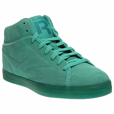 f110a6fcafa Reebok T Raww Mens Green Leather Sneakers Shoes Size UK 8  Amazon.co ...