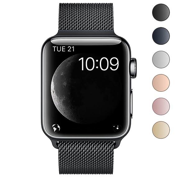 a919557bddf Pulseira Milanes Apple Watch 42mm prata (prata)  Amazon.com.br ...