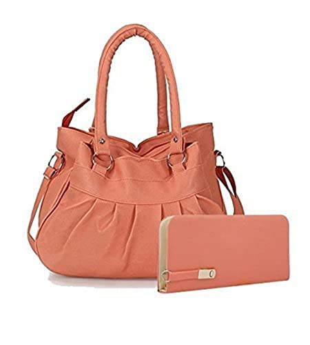 67ea26b8457 SALEBOX HOBO Leather Hand Bag with Long Belt & Top Handle Ideal for Women &  Colleger Casuals