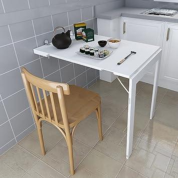 WSSF- Mesa de Comedor Plegable de Pared Mesa de Comedor pequeño ...