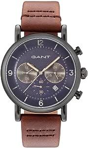 جانت ساعة رسمية للرجال، جلد، انالوج بعقارب - GT007007