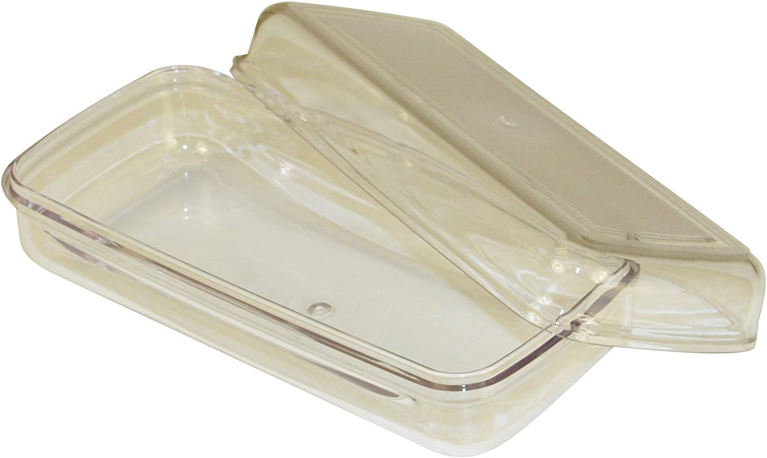 Whirlpool 67006229A Plastic Butter Tray And Lid, Clear