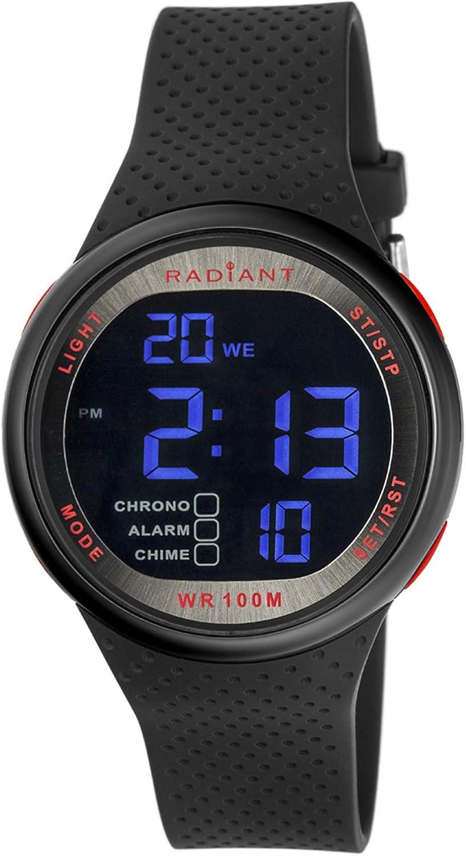 Radiant Reloj Hombre de Digital con Correa en Caucho RA445602