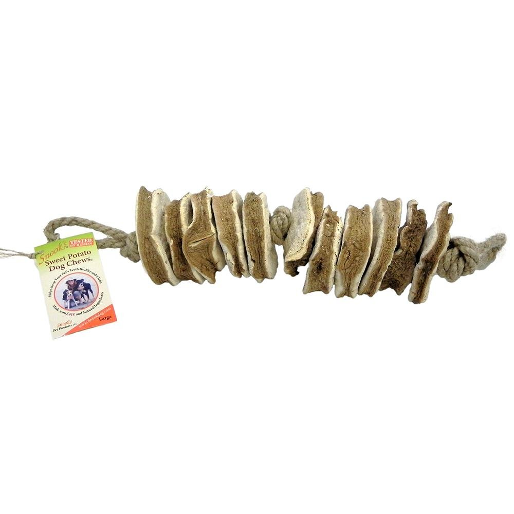 Snook's GMO-Free Sweet Potato Dog Chew Large 3 Pack