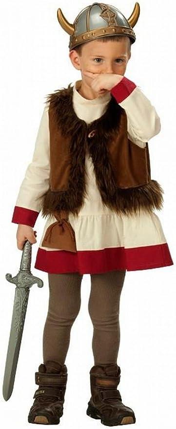 Rubies 1 2446 140 - Disfraz de vikingo (talla 140): Amazon.es ...