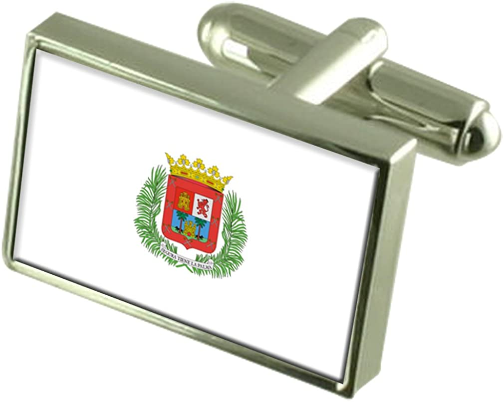 Select Gifts La Ciudad de Las Palmas Gemelos Bandera España Cuadro Grabado: Amazon.es: Joyería