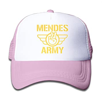 64d1522dadf ... buy huseki youth children kids swag shawn mendes army baseball cap hat  snapback black pink 0091a