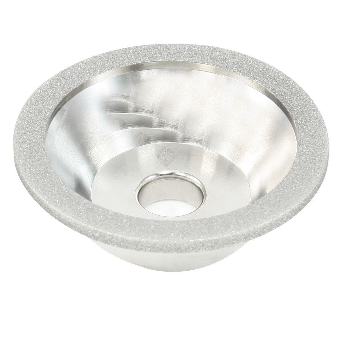 uxcell 150 Grit 100mm Outside Dia 20mm Hole Bowl Shape 11C9 Diamond Grinding Wheel