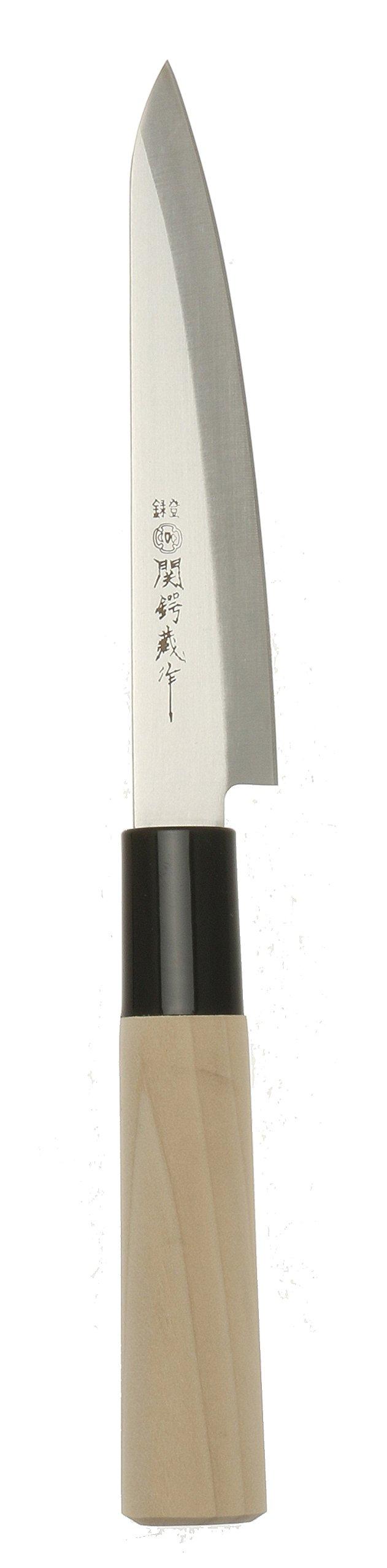 KotobukiSeki Paring Knife, Silver