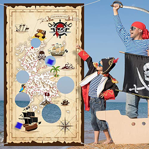 Jake And The Neverland Pirates Halloween Bag - Pirate Bean Bag Toss Game Pirate