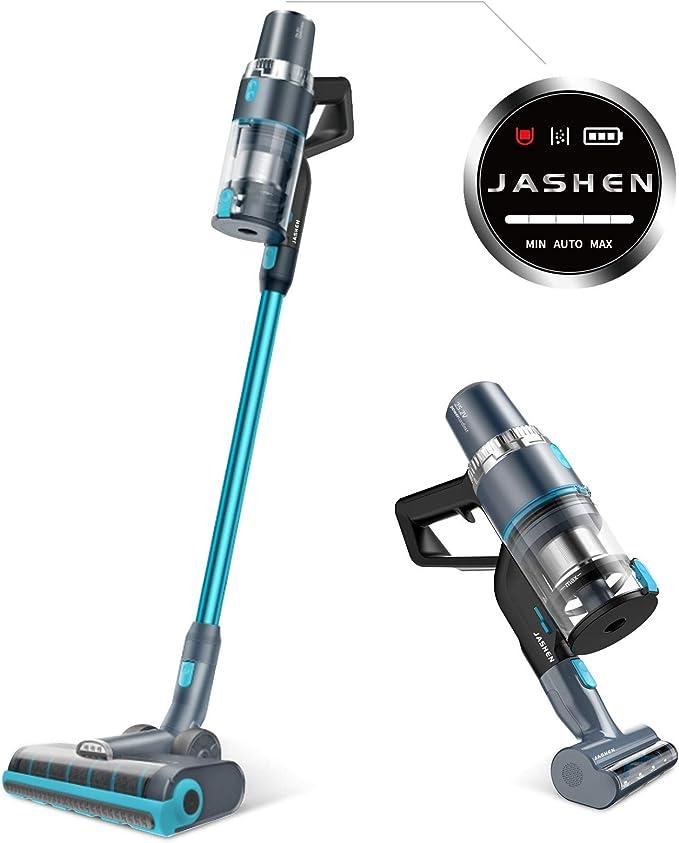 JASHEN Aspiradora sin Cable, 350W Motor Digital Brushless, Sensor ...