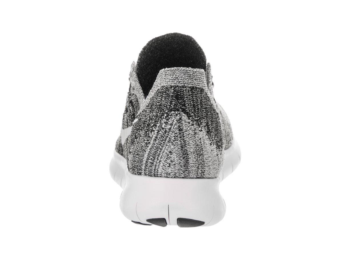 NIKE Shoe Women's Free RN Flyknit 2017 Running Shoe NIKE B06XSCHVYK 10.5 B(M) US|Black/White-volt 268563