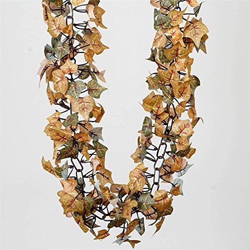 Efavormart 6 FT Artificial Fall Ivy Garland Foliage for Wedding Arch Gazebo Home D�cor -
