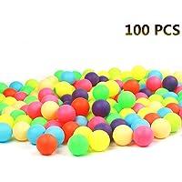 100 Tenis de Mesa de Colores, Tenis de Mesa de PP, Pelotas de Tenis de Mesa, Bolas de lotería de Ping Pong de Colores promocionales (OPP)
