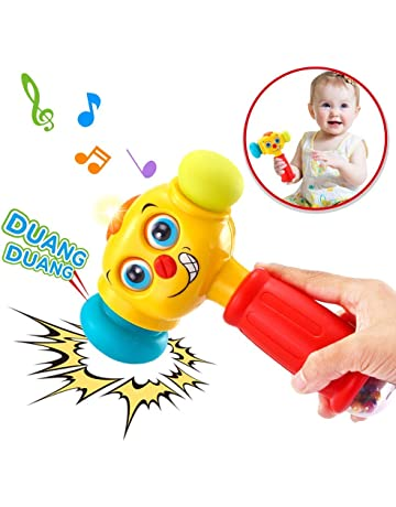 46052ca4c VATOS Baby Toys Light& Musical Baby Hammer Toy for 12 to 18 Months up |  Infant
