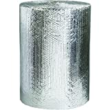 Boxes Fast BFINR24 Cool Shield Insulated Bubble Wrap Roll, 24'''' x 125', for Custom Thermal Packaging, Silver
