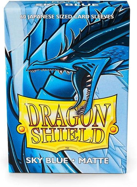 100 PROTECTIVE SLEEVES Blue Blu MTG MAGIC Dragon Shield