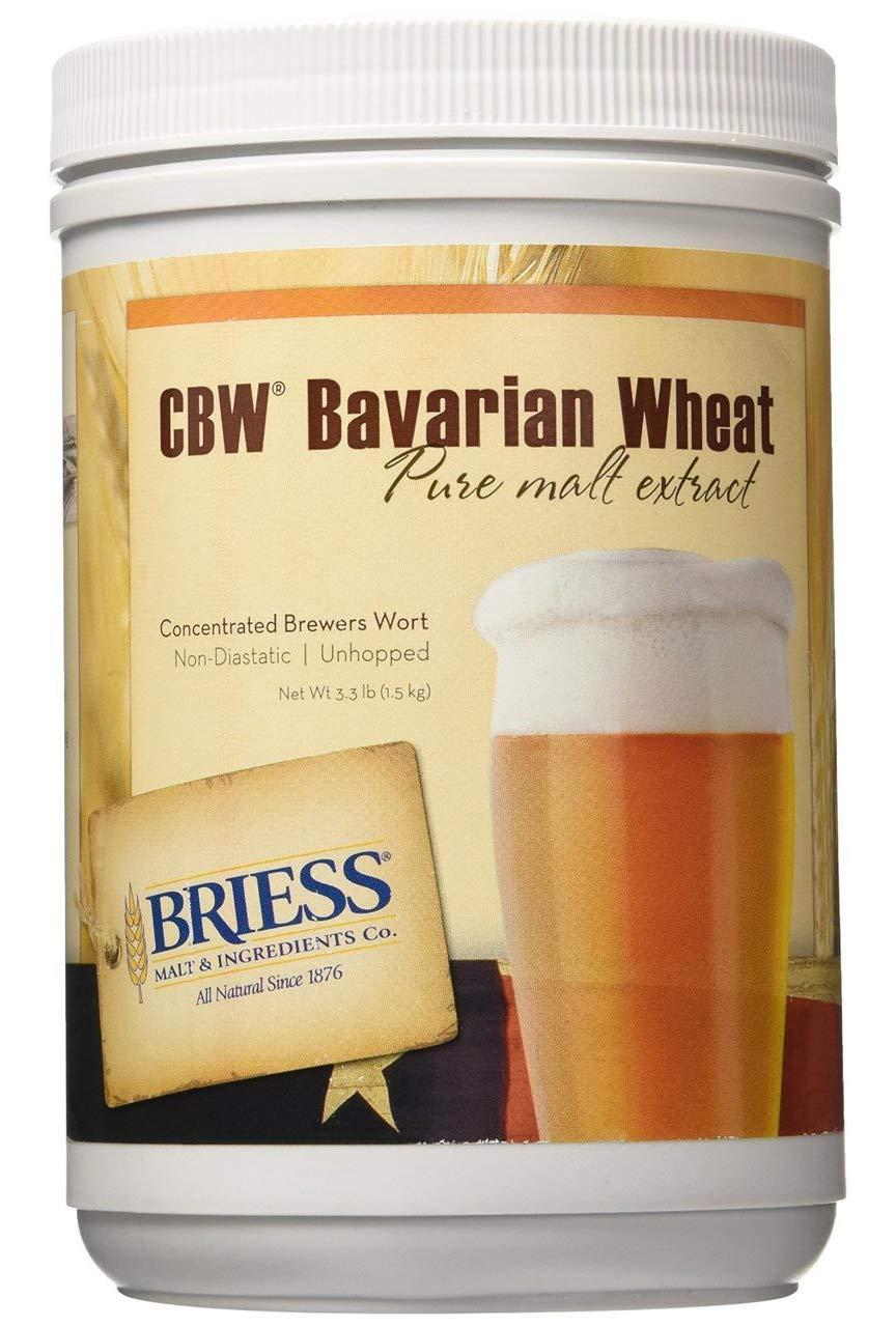 Briess - 813634 Bavarian Wheat Malt Extract, 3.3 lb.