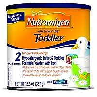 Nutramigen con Fórmula hipoalergénica para niños pequeños de Enflora LGG, polvo, 12.6 oz lata