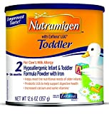 Nutramigen with Enflora LGG Toddler Hypoallergenic Formula, Powder, 12.6 oz Can