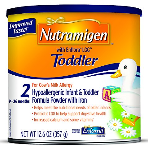 Enfamil Nutramigen with Enflora LGG Toddler Formula, Powder, 12.6 Ounce Can