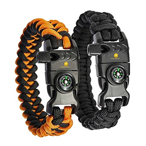 550 cord bracelet fire starter - 7