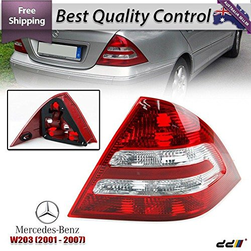 REAR TAIL Light Lamps Benz Mercedes W203 C-Class 00-04 C180 C200 C220 RIGHT SIDE ()