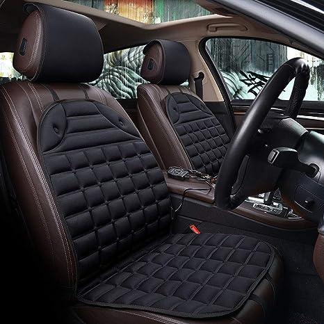 Housses de si/ège universelles GT Carbon compatibles avec Suzuki Ignis Ensemble Complet de Housses Couleur Noire