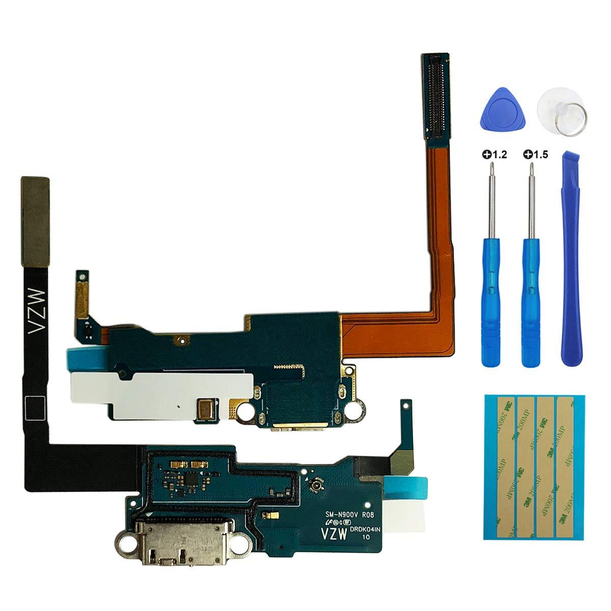 Puerto de Carga para Samsung Note3 N900A