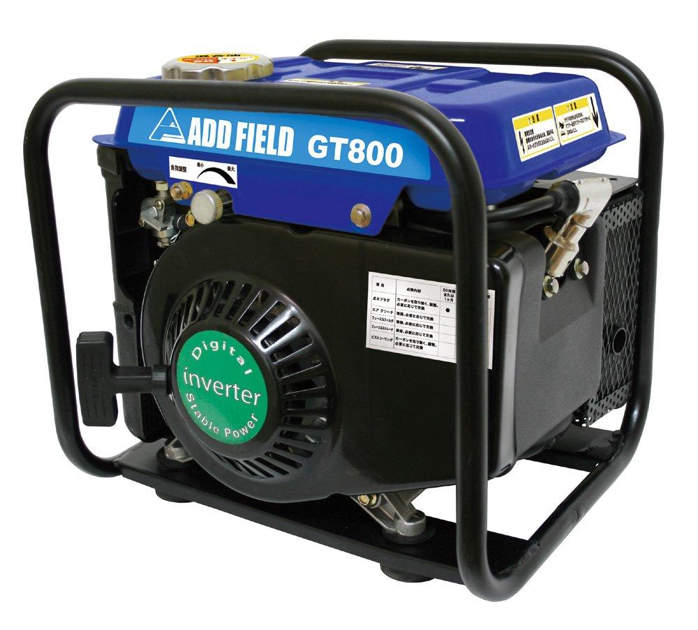 アドフィールド(ADD FIELD) インバーター式携帯発電機 GT800 【60Hz】