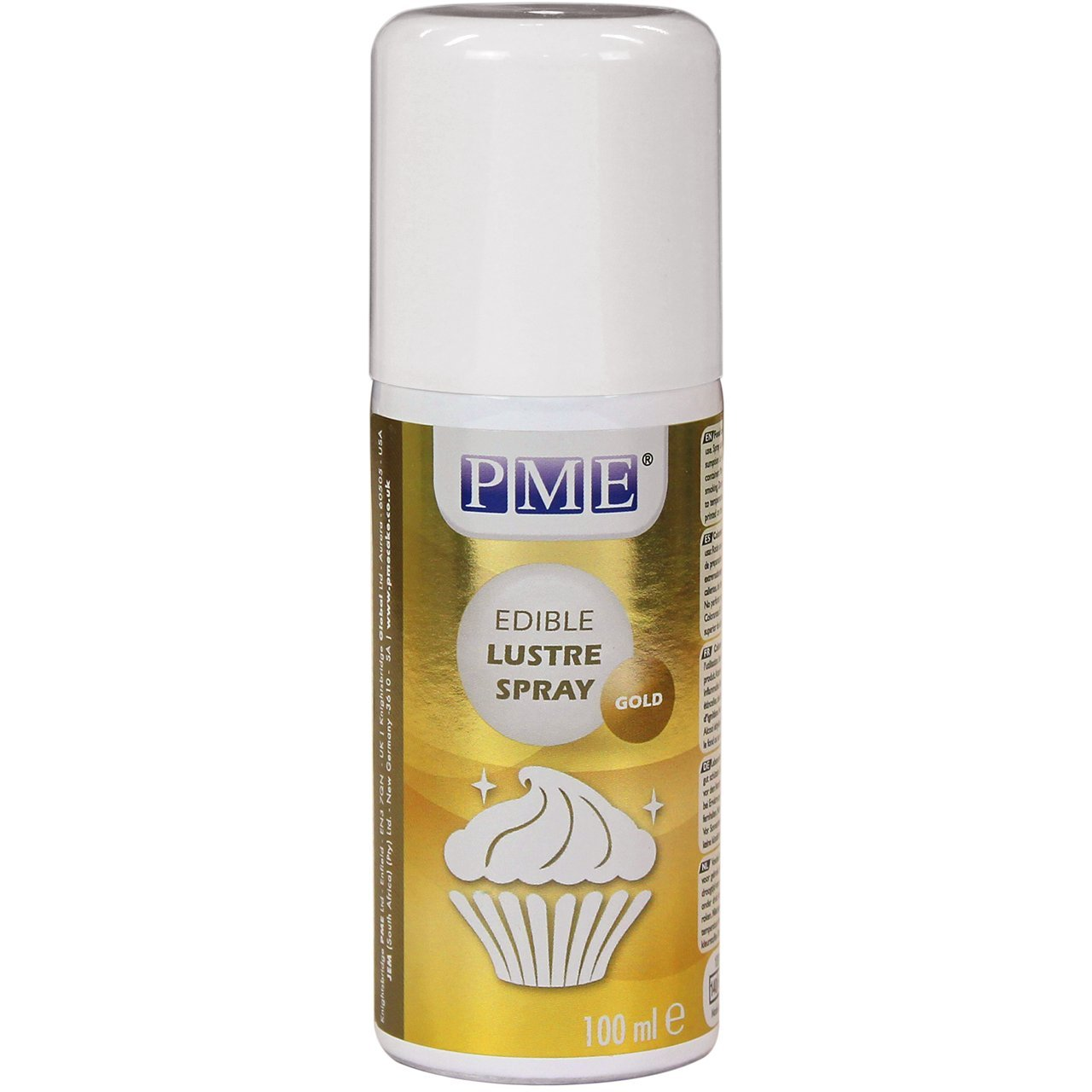 PME Edible Lustre Spray, Gold, 3.3 Ounce
