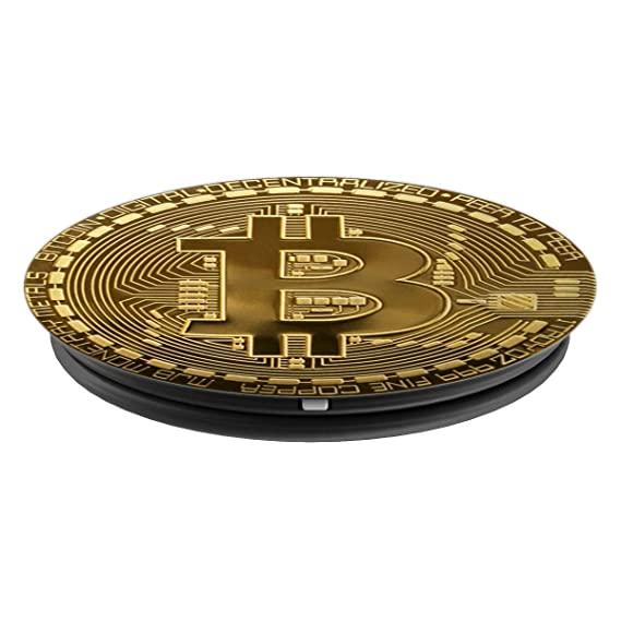 Amazon.com: Bitcoin Pop Socket - Crypto Currency - Digital ...
